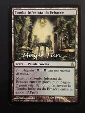 TOMBA INFESTATA DA ERBACCE - OVERGROWN TOMB ITA EX- - MTG MAGIC [MF]