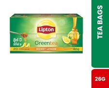 Lipton Honey & Lemon Green Tea Bag 26g (20 Tea Bags)