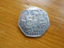50p coin Victoria Cross 2006 circulated