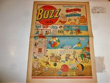 BUZZ Comic - No 6 - Date 24/02/1973 - UK Paper comic