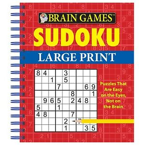 Brain Games Puzzle Books - Sudoku