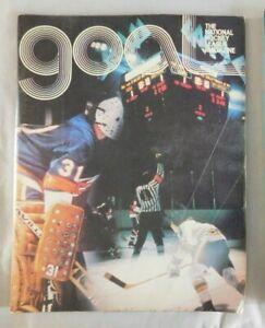1977 GOAL Program Philadelphia Flyers Vs Chicago Black Hawks 10/13/77