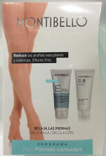 Piernas Cansadas : Exfoliant GeL 200ML + Descongestive GeL 200ML Montibello