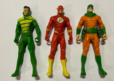DC Universe Crisis Series Three Pack The Flash 4 Inch Action Figure Set 2008