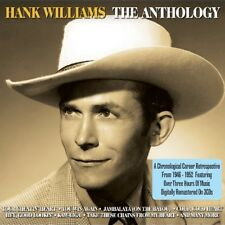 HANK WILLIAMS - THE ANTHOLOGY 3 CD NEW!