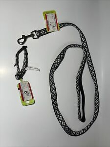 Top Paw Pet Dog Collar, Size XXS With Dog Chain 4ft. Get 2 Items For 1 Price.NEW