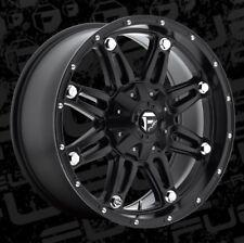 Fuel Hostage D531 20x9 8x6.5 ET1 Matte Black Wheel (1)
