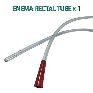 RECTAL ANAL TUBE SUITABLE FOR WATER & COFFEE ENEMAS & COLONICS - QUANTITY 1 AUS