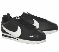 Nike Classic Cortez-og-Negro Blanco-Cuero-UK 5