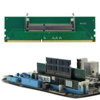 DDR3 Laptop SO-DIMM zu Desktop DIMM Speicher RAM Anschluss Adapter Nett DDR  NEU