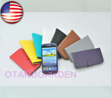 PU Leather Flip Case Cover Credit card holder For Samsung Galaxy S3 SIII i9300