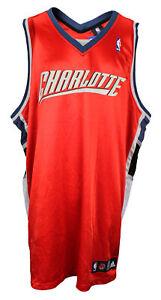 Adidas NBA Basketball Men's Charlotte Bobcats Blank Jersey - Orange