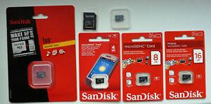 NEU: SanDisk Swissbit 512MB | 1GB | 2GB | 4GB | 8GB | 16GB microSD micro SDHC SD