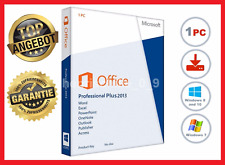 Microsoft Office 2013 Professional Plus, Für 1 PC ✔ MS® Office ✔ PRO VOLLVERSION
