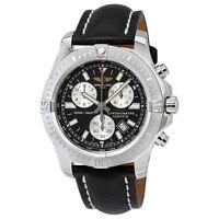 Breitling Colt Chronograph Black Dial Mens Watch A7338811-BD43BKLT
