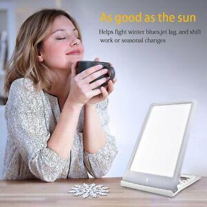 5600-32000 LUX Lichttherapie SAD Tageslichtlampe Lampe Tageslicht Dimmbar DE