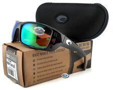NEW Costa Del Mar PERMIT 580P Polarized Sunglasses   Tortoise Green Mirror Lens