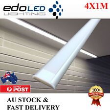 4X1M Wide Edge Channel Aluminium profile for Led Strip Light Cabinet Kitchen