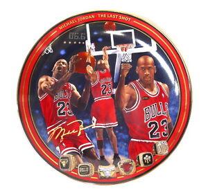 Michael Jordan Upper Deck The Last Shot Collector Plate #1004A