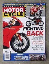 Motorcycle News AMCN May 2006 VICTORY JACKPOT FZ-1 MV F4 BOLWELL VFR SPRINT ST3