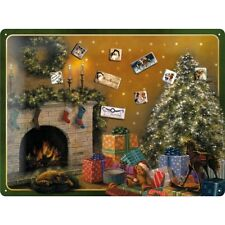 Magnettarfel Magnet Board Pinnwand Christmas + 9 Christmas Magnete