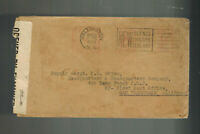 1943 Wellington New Zealand Cover to USA USMC Marine Corps Sergeant P G Grimm