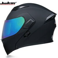 DOT Modular Helmet Motocross Motorcycle Helmet Flip Up Full Face Dual Sun Visor