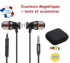 Noir - Fonken Ecouteurs Magnétiques - Universel Stéréo Samsung Iphone Apple