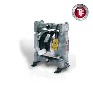 "3/4"" Graco Husky 716 Stainless Steel Air Diaphragm Pump (SS/PTFE/SANT) - D54311"