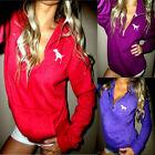 Women Long Sleeve Hoodie Pullover Sweatshirt Sweater Casual Hooded Summer Tops C