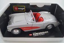 Bburago Burago Modellauto 1:18 Chevrolet Corvette 1957 Cod. 3024 *in OVP*