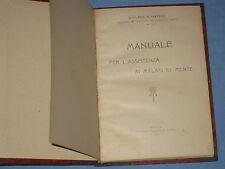 MANUALE PER L' ASSISTENZA AI MALATI DI MENTE - G. Seppilli    (H5)