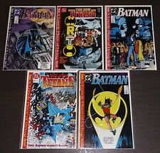 Batman: A Lonely Place of Dying SET ~ 5 ISSUES / Tim Drake~ (9.0OB) 1989 WH