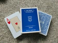 More details for dal negro playing cards poker size 100% pvc blue back brand new made in italy
