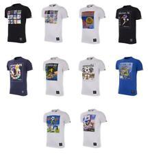 Panini Sammelsticker T-Shirts Weltmeisterschaften 1970 bis 1998 und als Collage