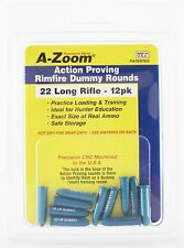 A-Zoom 22 LR Action Proving Dummy Rounds - 12 Pack