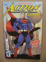 Action Comics #1000 DC Comics Superman Jim Lee Cover 9.6 Near Mint+