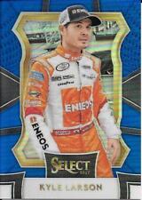 Kyle Larson - 2017 Panini SELECT - BLUE Prizm Parallel - NASCAR - #/199