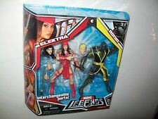 MARVEL LEGENDS ELECTRA & RONIN 2-PACK ACTION FIGURE SET BRAND NEW IN MINT BOX