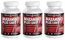 Muscle gain supplements - MAXAMINO PLUS 1200 3B - glucosamine capsules