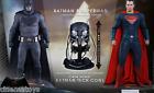 Batman v Superman Figure 1/6 Figure Set + Accessory Exclusive Tech Cowl Hot Toys