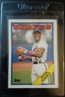 1988 TOPPS TRADED #39T RON GANT ROOKIE CARD RC ATLANTA BRAVES MINT