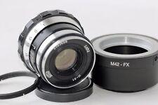 INDUSTAR 61 ZEBRA 8/52mm Soviet Lens + adapter Fujifilm USSR