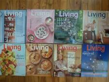 8 Newer Martha Stewart Living Magazine Lot '07-'11 Gardening Halloween Christmas