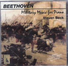 Beethoven: MIlitary Music for Piano / Steven Beck (CD,...