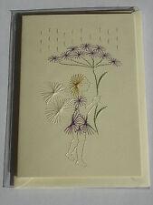 HANDMADE STITCHED GREETING CARD - BIRTHDAY - FAIRY CARD 1