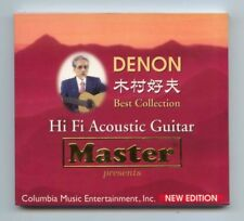 """Denon Hi-Fi Acoustic Guitar Yoshio Kimura Best Collection Vol.1"" Japan CD New"