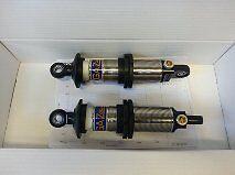 "2 x 15"" open Gaz Gold aluminium adjustable coilovers."