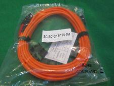 Cisco Compatible CAB-MMF-SC-5M   62.5/125  SC-SC Duplex   Fiber Optic Cable, 5M.