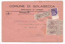 I66-RSI-EMERGENZA-BUSTA DA GOLASECCA A VARESE 1945